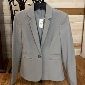 Express fitted blazer: Soft Gray  Size 0